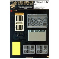 Fokker E.IV - Super Detail Set 1/32 - 132117