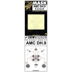AMC DH.9 - Masks 1/32 - 632025