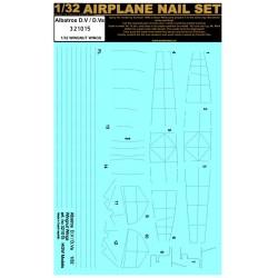 Albatros D.V & D.Va - Nail Set 1/32 - 321015
