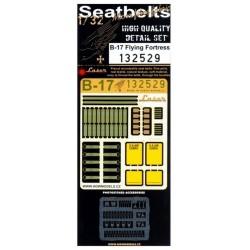 B-17 - Textilní pásy 1/32 - 132529